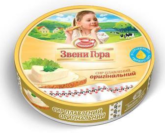 Сыр плавленый порционный оригинальный Звени Гора, 140г