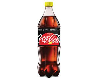 Напій Coca-Cola Zero Lemon, 1л