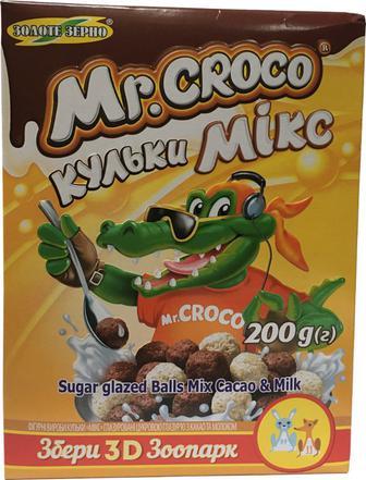 Кульки Золоте Зерно Мікс какао з молоком 200г