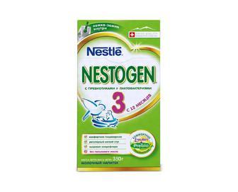 Суміш суха молочна Nestle Nestogen, 3 350 г