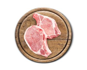 Свинина, корейка на кістці охолоджена, кг