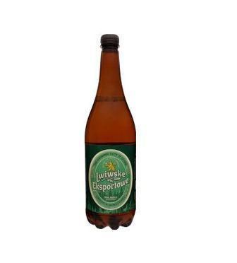 Пиво світле Експортове Львівське 0,95 л