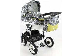 Дитяча коляска універсальна 2 в 1 Adbor Ottis ott 30