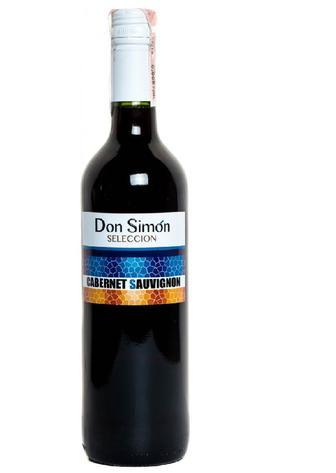 Вино Don Simon Cabernet Sauvignon красное сухое 0.75 л 12%