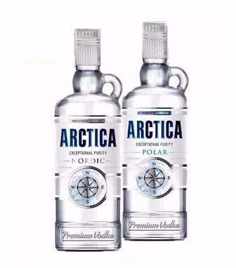 Горілка 40% Arctica 0,5л