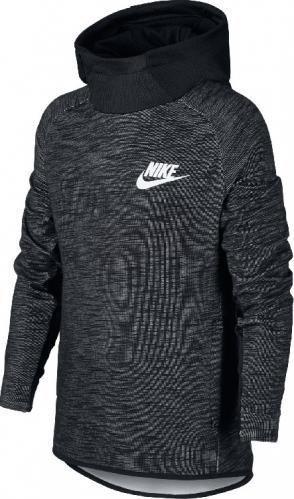 Джемпер Nike B Nsw Hoodie Po Av15 Ssnl р. L чорний 892476-010