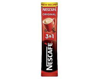 Напій кавовий Nescafe Original мікс, 3 в 1 розчинний, 13г