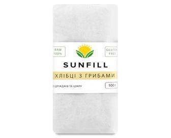 Хлібці SunFill з грибами, 100г