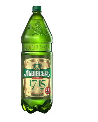 Пиво Львівське 1715, 2,4л