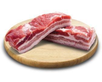 Солонина з грудинки свинячої 1кг