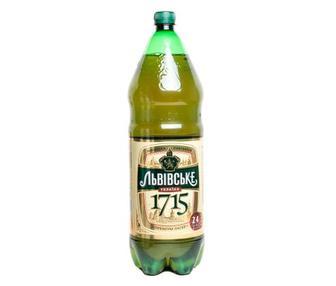Пиво 1715 Львівське 2,4л