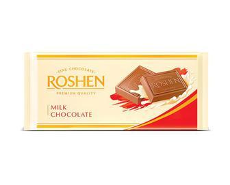 Шоколад Roshen молочний, 90 г