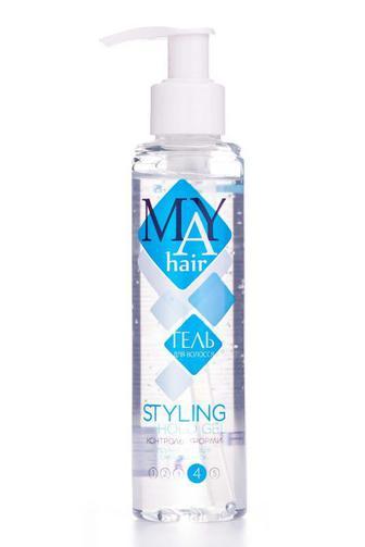 Гель для волос MAY hair сильной фиксации 150 мл