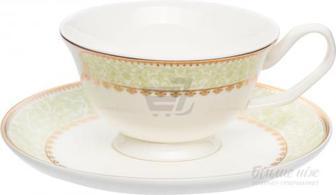 Чашка для чаю з блюдцем Verde 200 мл