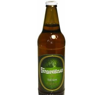 Пиво світле Хмільне Бердичів, 0,5 л